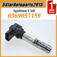 New Ignition Coil for VW Golf Jetta Caddy Beetle Polo Audi Skoda Seat 036905715F