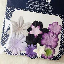 Artificial Flowers in Purple