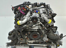 Audi A8 4H D4 4.2 TDI 351 PS Motor ENGINE CDS CDSB komplett Anbauteile & Turbo´s