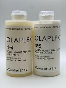 Olaplex No 4 and No.5 Shampoo and Conditioner Duo 8.5 oz 100% Authentic