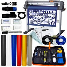 """Bundle: 24"""" Graphtec CE6000-60 PLUS Vinyl Cutter/Plotter + Oracal Vinyl + Tools"""