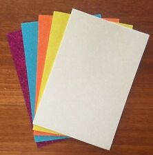 """5 PACK OF """"GLITTER PACK 1s"""" SELF ADHESIVE FOAM SHEETS, 11.5cm x 15.5cm sheets"""