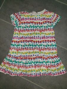 Girls White Floral Dress George 3-4 Years
