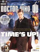BBC DOCTOR WHO MAGAZINE ISSUE 46 B 2014 SEALED WITH MASSIVE DOUBLE SIDED POSTER
