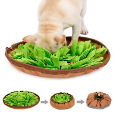 Washable Dog Snuffle Mat Sniffing Training Pad Pet Interactive Puzzle Play N#S7