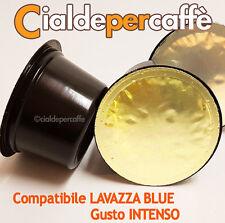 100 capsule cialde caffè compatibili LAVAZZA BLUE gusto INTENSO
