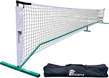 New listing Falconz Regulation Size Pickleball Net for Outdoor and Indoor - Portable 22 Feet