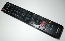 Original SHARP AQUOS LED TV Remote Control LC-50LE650  600154000-579-G  Netflix