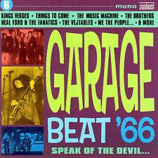 Garage Beat '66, Vol. 6: Speak of the Devil  Various Artists CD NEW 2007 Psyc