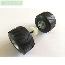 W10671 Scalextric Ricambio Ruota Posteriore Asse Montaggio Per Camion Monster