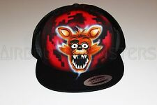 Five Nights at Freddy's Foxy personalized airbrush trucker hat