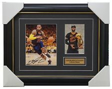Lebron James Signed Cleveland Cavaliers Photo Collage Framed - 3 x NBA Champions
