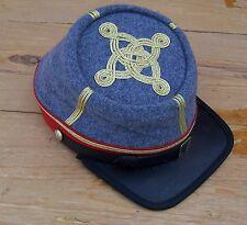civil war confederate reenactor officers kepi  3 row braids XLarge