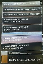 Mixed U.S. Mint Proof Lot - 2011 to 2019