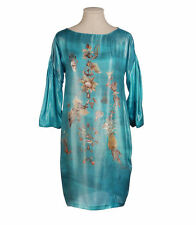 SENSATIONAL SOPHIA KOKOSALAKI VIBRANT PRINT SILKY DRESS