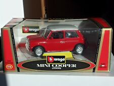 Mini Cooper  1960   Automodello  ditta BURAGO   -scala 1/16- MB----