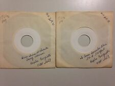 RARE LOT DISQUES 45T TEST PRESSING SPECIAL RAPHA BROGIOTTI