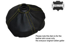 YELLOW STITCH MANUAL GEAR GAITER FITS OVER RUBBER FITS CITROEN C2 GT 2003-2004
