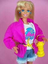 1993 barbie camp mattel avec tenue et accessoires