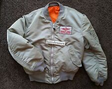 Breitling FLYING EAGLES PILOT jacket XL ALPHA INDUSTRIES USED GOOD CONDITION