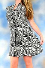 RETAIL $398 MARC by MARC JACOBS Agave nectar multi 100% silk geometric dress XS