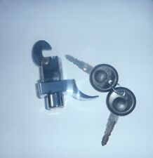 Engine lid lock, with keys, in chrome,VW Beetle 1972 to 1979