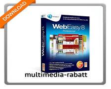 Avanquest WebEasy 8 Professional Webseiten kinderleicht erstellen