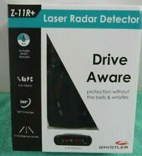 Whistler Z-11R+ Laser Radar Detector BRAND NEW