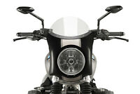 PUIG BULLE SEMICARENÉ BMW R NINE T SCRAMBLER 2019 TRANSPARENT-CARBON