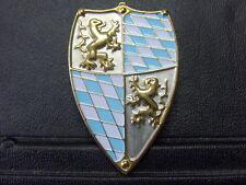 Pin Bayern Wappen Rauten Löwe Schild - 5 x 3,5 cm