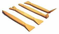 Auto Trim Upholstery Molding Removal Tool Set - 4 PC Nylon Kit for Panel Clips