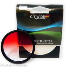 New 72mm Graduated Red Color Special Effect Filter #031130