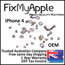 iPhone 4 4G OEM Full Screw Screws Set 45 Pieces Parts Bottom Cross Replacement