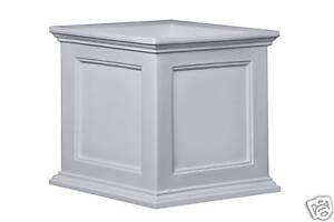 Mayne Fairfield Patio Planter Box - White