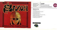 SAXON - Killing Ground - PROMO with BIO - 2001 Steamhammer