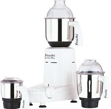 Preethi Eco Plus 3 Jar Indian Mixie Mixer Grinder for 110 Volts