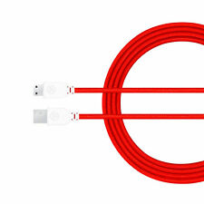 Brand New Original RED Nylon nabi 4' Charger Cable DreamTab, 2S, Jr, XD, elev-8