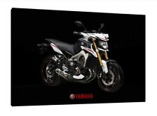 Yamaha MT-09 - 30x20 Inch Canvas Framed Picture Print Poster