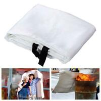 New Home & Office Safety Large Fire Blanket 1m X 1m Emergency Survival S7V8