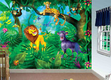 Jungle Cats-Wall Mural-10.5 by 8 feet