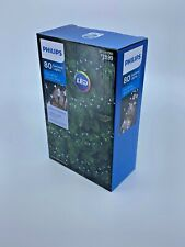 Philips 80ct LED Christmas Smooth Mini Garland String Lights Cool White