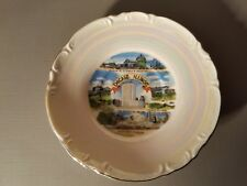 Vintage Souvenir Mini Plate  Chicago Illinois s3
