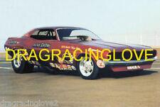 "Gene Snow ""Rambunctious"" 1970 Dodge Challenger NITRO Funny Car PHOTO!"