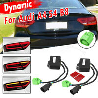 Limo Semi Dynamic Turn Signal Indicator For LED Taillights L+R For Audi A4