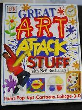 Great Art Attack Stuff with Neil Buchanan - brand new