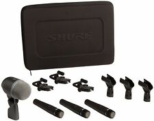 Shure DMK57-52 Instrument Microphone Set with: SM57, BETA52A & A56D Mics