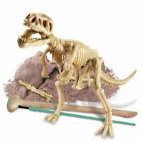4M Kid's Dig Your Own Tyrannosaurus Rex Dinosaur Skeleton Excavation Kit