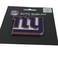 New NFL New York Giants Auto Car Truck Heavy Duty Metal Color Emblem