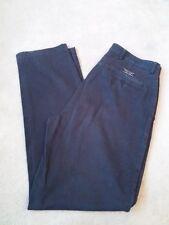 Men's GANT Brushed Gab Navy Blue Chino Trousers Size W34/L32