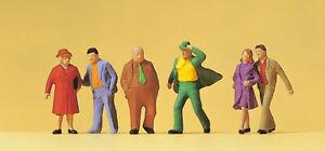 "PREISER 14124 H0 Figurines "" Pedestrians "" # New Original Packaging ##"